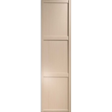 "Shaker Sliding Wardrobe Door 610mm (24"") Maple Panel Door"